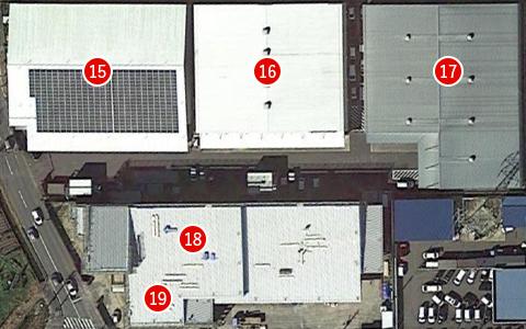 第3・5低温倉庫、8号倉庫