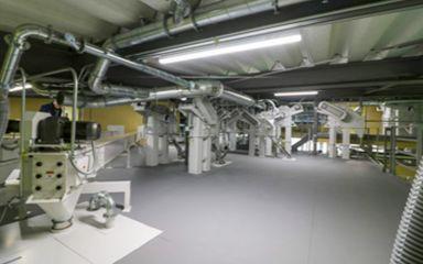 製造エリア 4階部